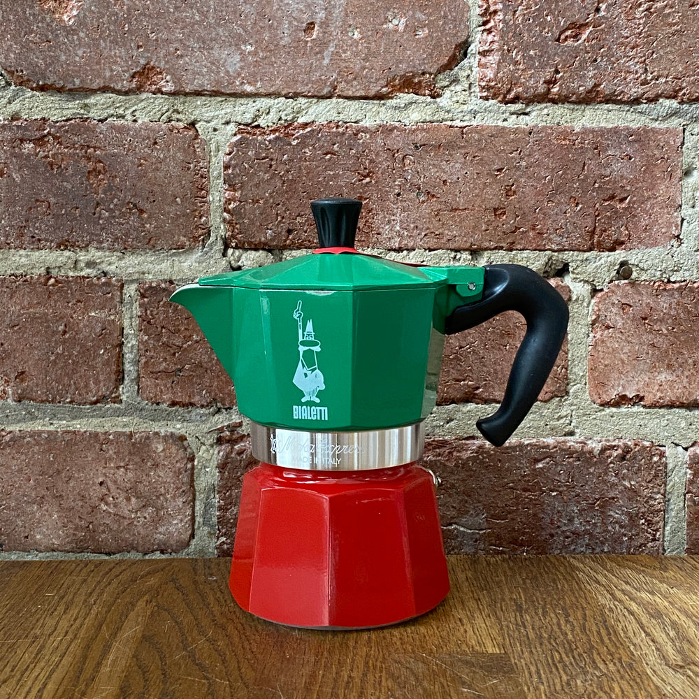 Load image into Gallery viewer, Moka Express Coffee Maker - 3 Cup - Italian Colours