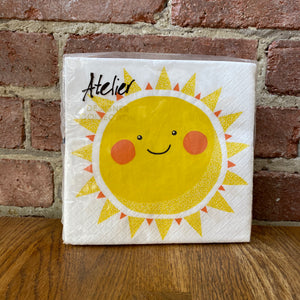 Load image into Gallery viewer, Sun Design - 20 Napkins