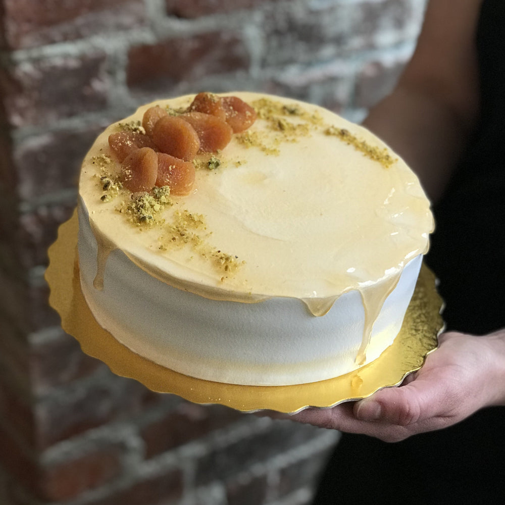 Pistachio and Limoncello Cream