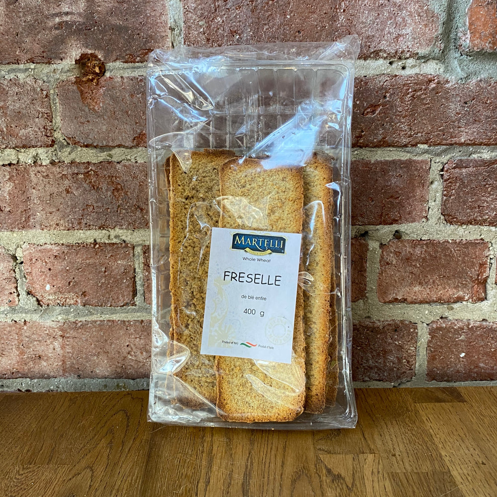 Rectangle Dried Whole Wheat Bread - 400g