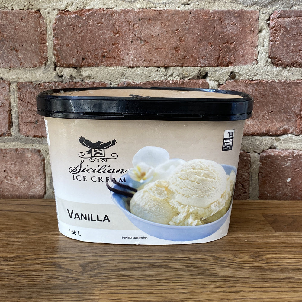 Ice Cream - Vanilla - 1.65L
