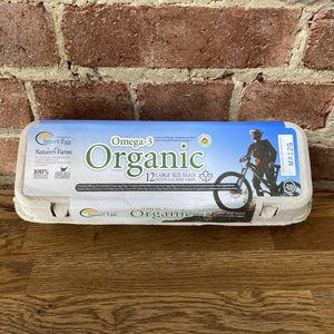 Large Organic Eggs Carton