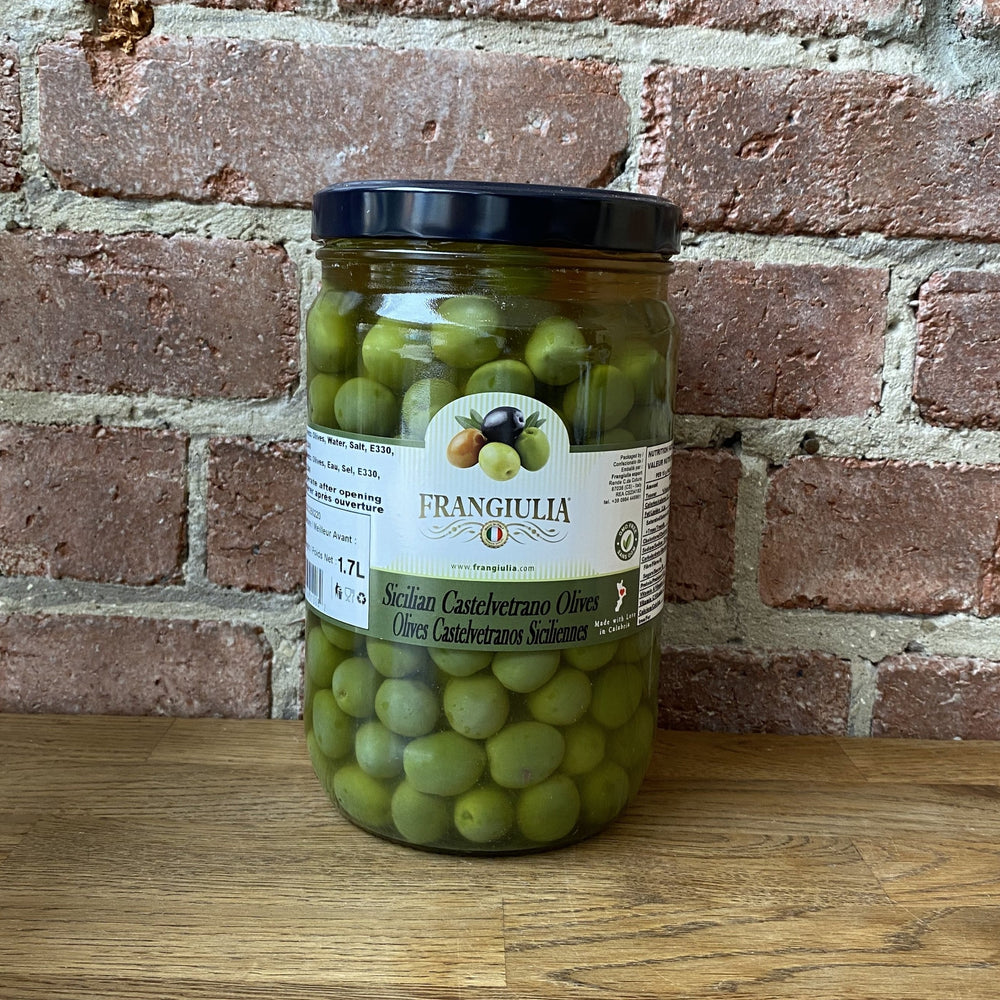 Sicilian Castelvetrano Green Olived - 1.7L