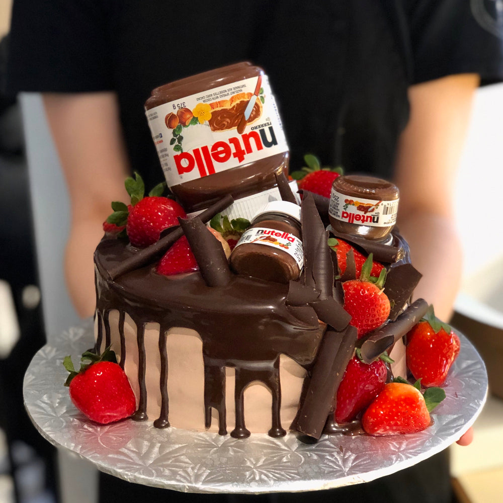 Load image into Gallery viewer, Chocolate Nutella Cake