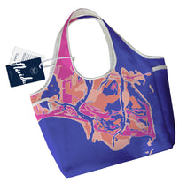 Load image into Gallery viewer, Florida Gulf Coast Boho Tote, Pink