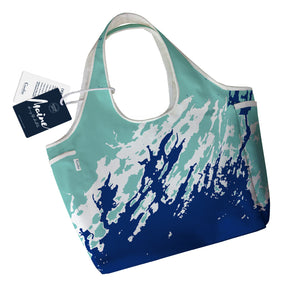 Maine Coast Boho Tote, Casco Bay to Boothbay