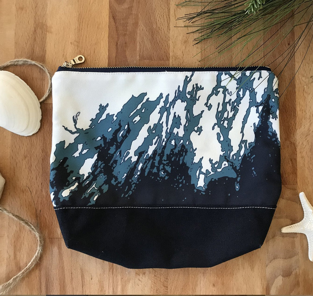ONE-OF-A-KIND Maine Zip Clutch/Essentials Pouch