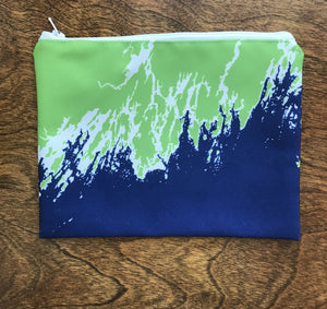 Weekend Away Zip Pouch, Greenery