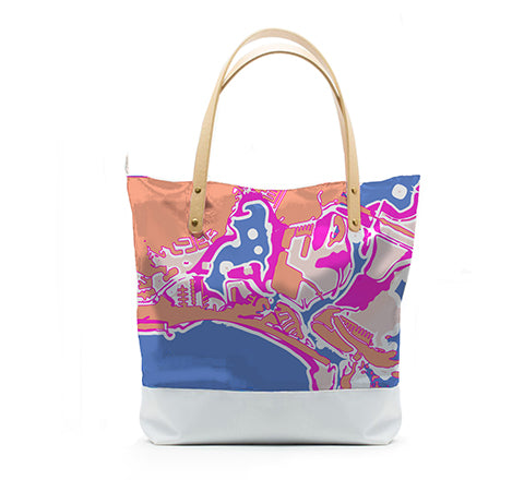 Gulf Coast Everyday Handbag, Bird of Paradise