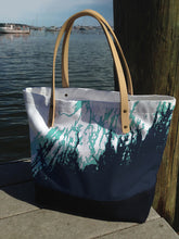 Load image into Gallery viewer, Maine Coast Weekender Tote, Navy