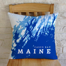 Load image into Gallery viewer, Casco Bay Maine Throw Pillow Plus Insert OR Pillow Cover Only