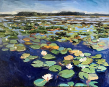 Load image into Gallery viewer, Water Lilies I 20x16