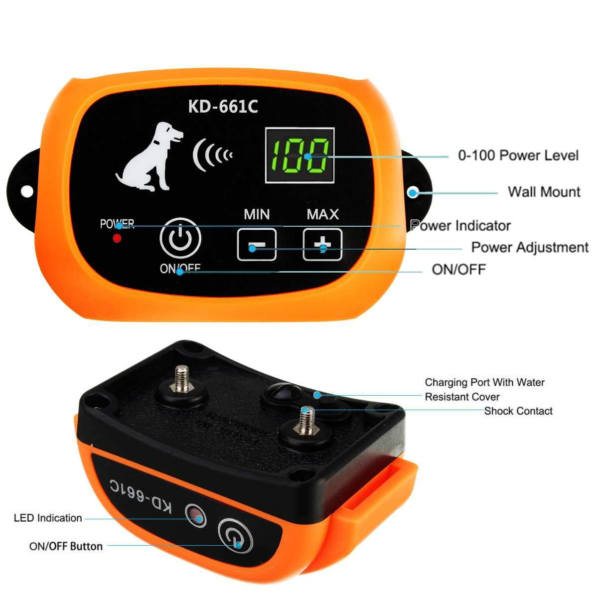 yard shock collars for dogs