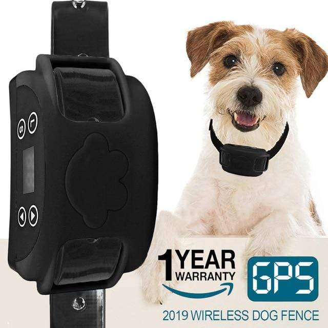 Horizon Care 2020 All New Hot Wireless Electric Dog Fence GPS Outdoor Containment System Transmitter Collar Rechargeable Waterproof