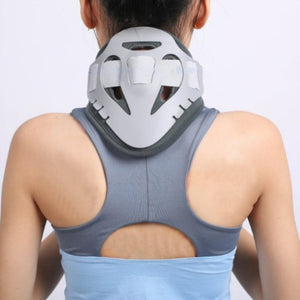 Cervical Neck Traction Device Adjustable Orthosis Neck Brace | Horizon Care