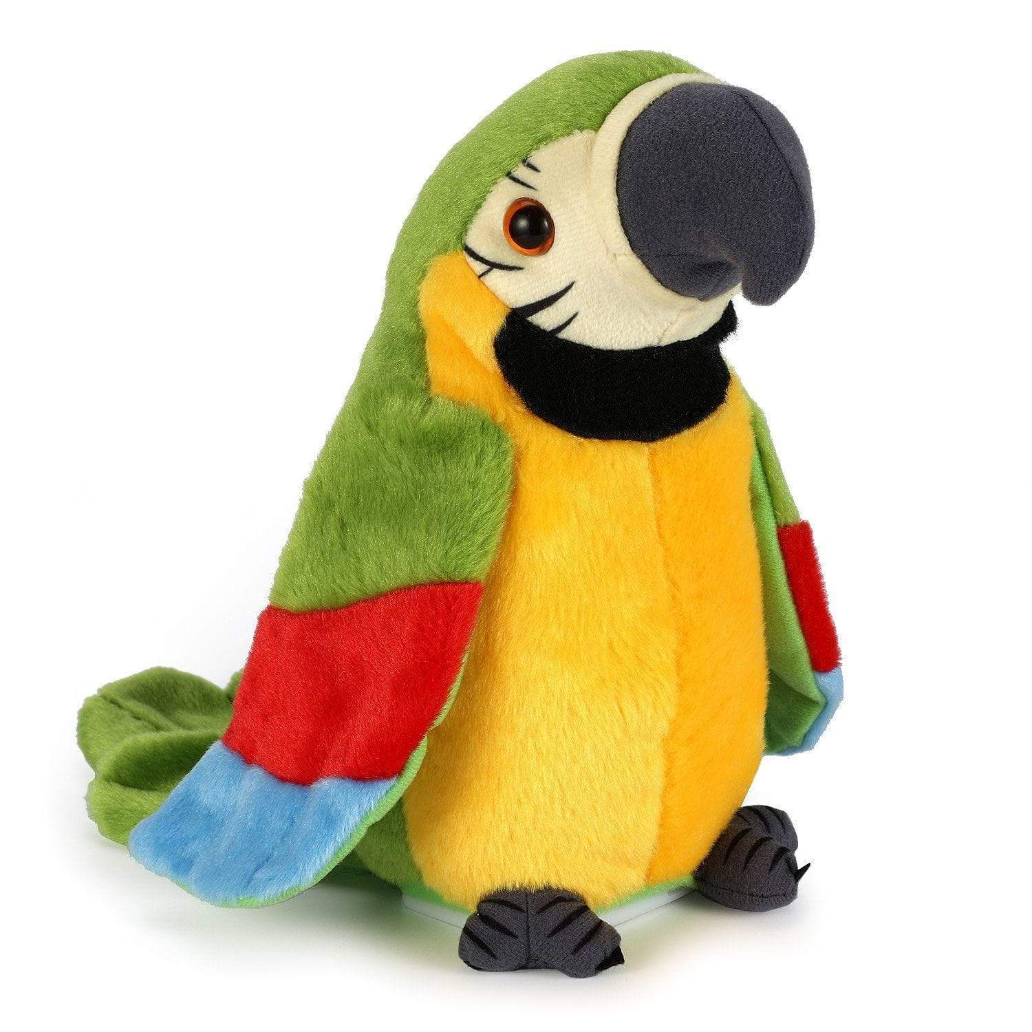 Horizon Care Plush Parrot Interactive Toy