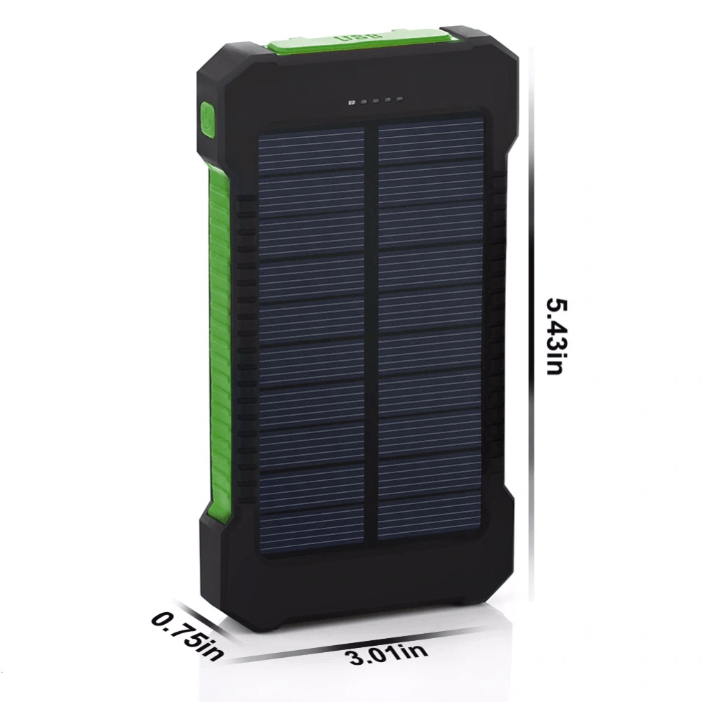 Horizon Care Solar Portable Charger - Wireless Lit Solar Power Bank