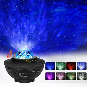 Horizon Care Star Projector Night Light, 2 in 1 Night Light Projector Adjustable Lightness Starry Light and LED Nebula Cloud with Remote Control & Built-in Music