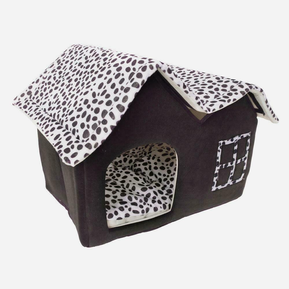 Horizon Care Warm Dog Bed House with Double Roof