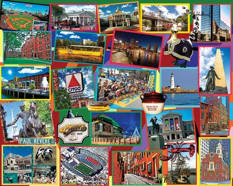 Boston Collage 1000pc