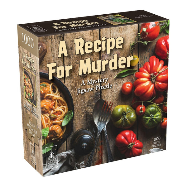 A Recipe for Murder Mystery Puzzle