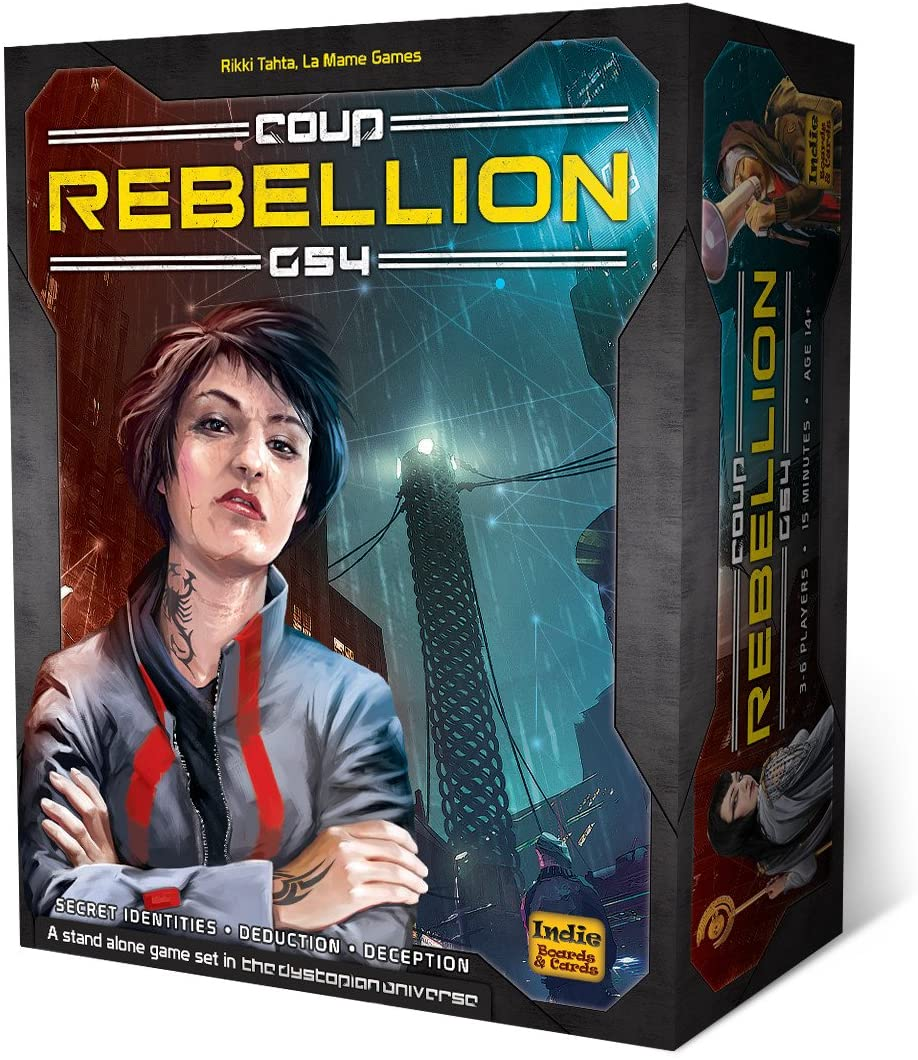 Coup - Rebellion G54 - Anarchy