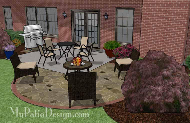 Paver Patio #A-015501-01