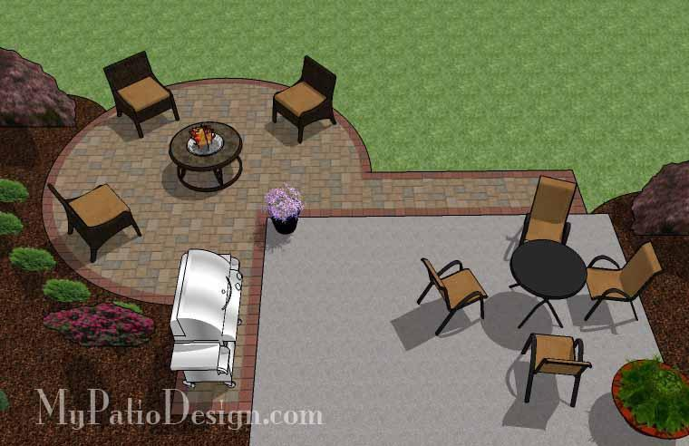 Paver Patio #A-024001-01