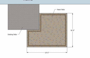 Paver Patio #A-028001-01