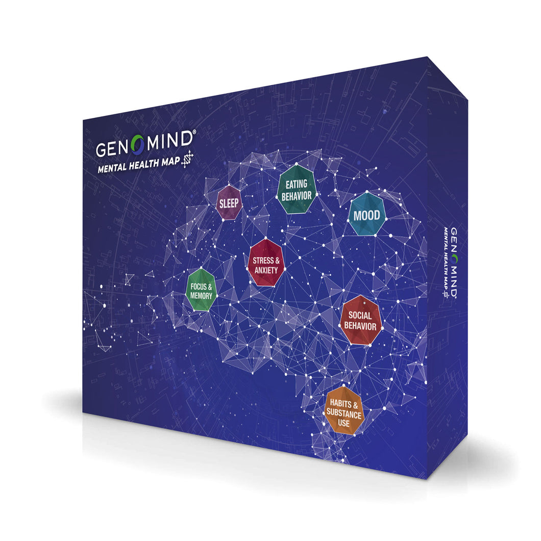 Mental Health Map DNA Test Kit with Expert Consultation