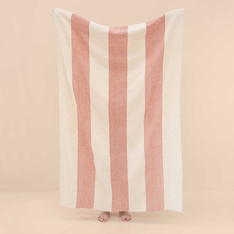 Beach Hamam Towel Vals Red