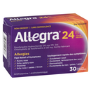 Allegra Non Drowsy 24 Hour Tablets 30's