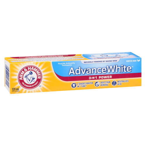 Arm & Hammer 120ml Advanced White 3in1 Power