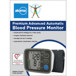 Atoma Premium Advanced Auto BP monitor