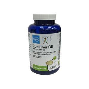 Atoma Cod Liver Oil with Vit D3 Softgels 100's