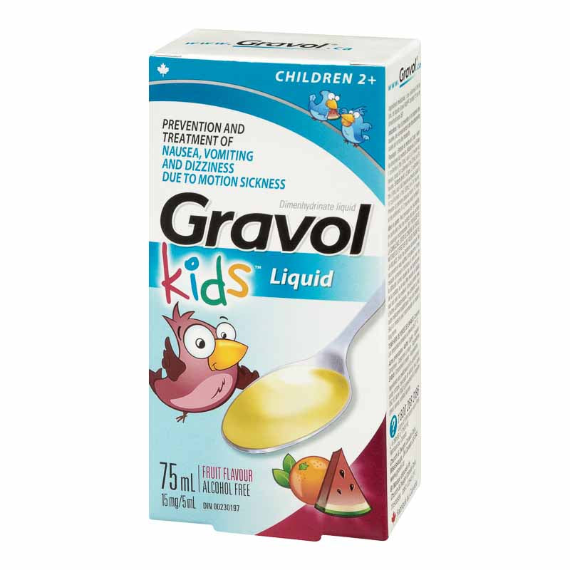 Gravol 75ml Kids Liquid