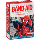 J&J Band-Aid 20's Spiderman