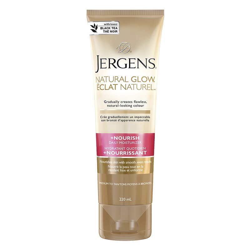 Jergens 220ml Natural Glow M-T