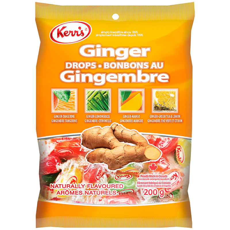 Kerrs 200gm Ginger Drops