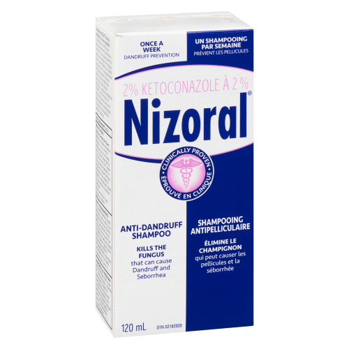 Nizoral Anti-Dandruff Shampoo 120 ml