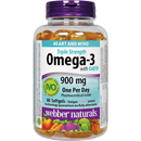 Webber Omega-3 Triple Strength  80 Softgels