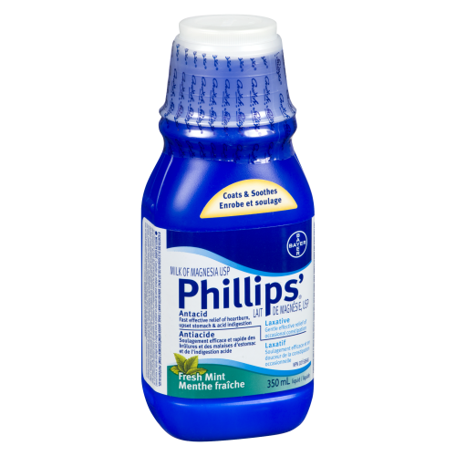 Phillips Milk Of Magnesia Sugar Free 350ml