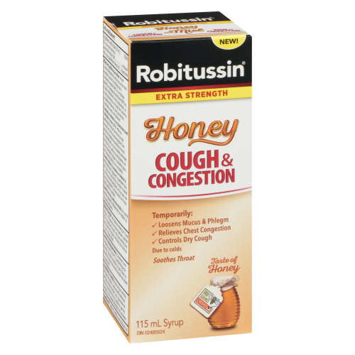 Robitussin Honey Cough & Congestant Ex-St 115ml