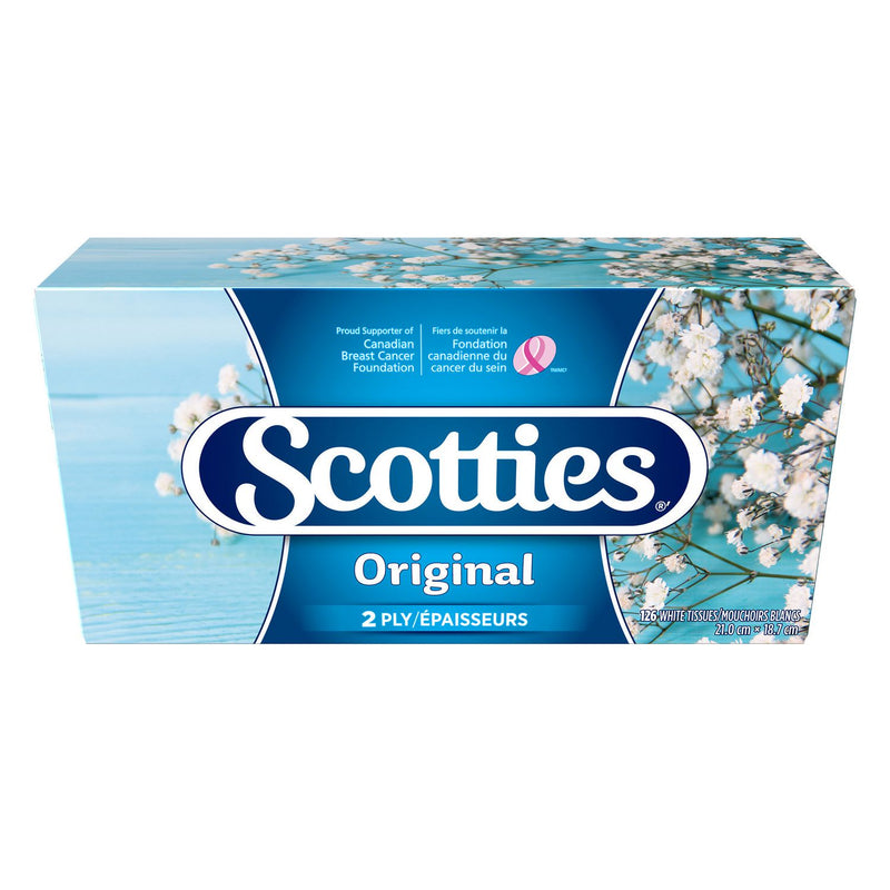 Scotties Facial Tissue 2 Ply 126's