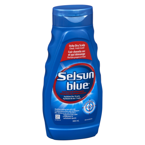 Selsun Blue Shampoo Dry Itch 300ml