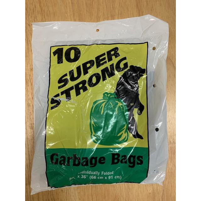 Super Strong 10's Garbage Bags