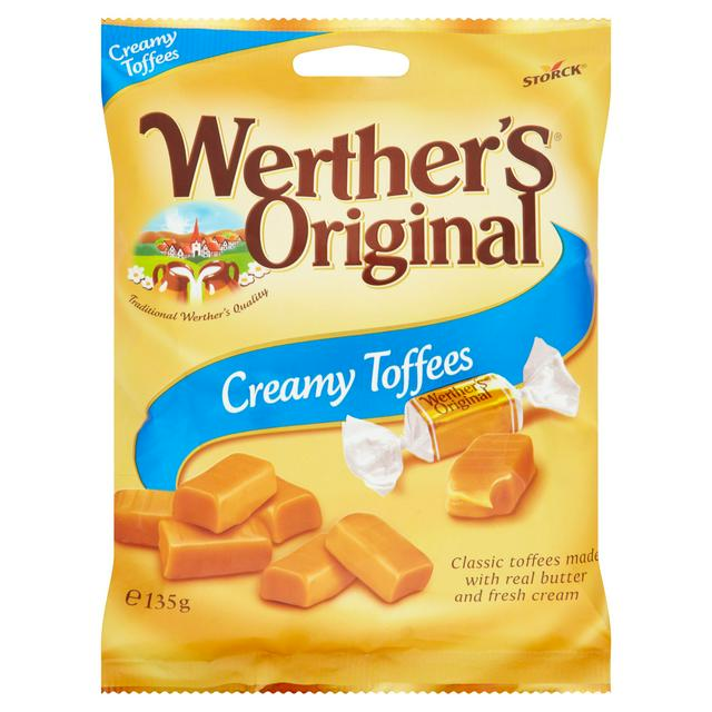 Werthers 135gm Creamy Filled