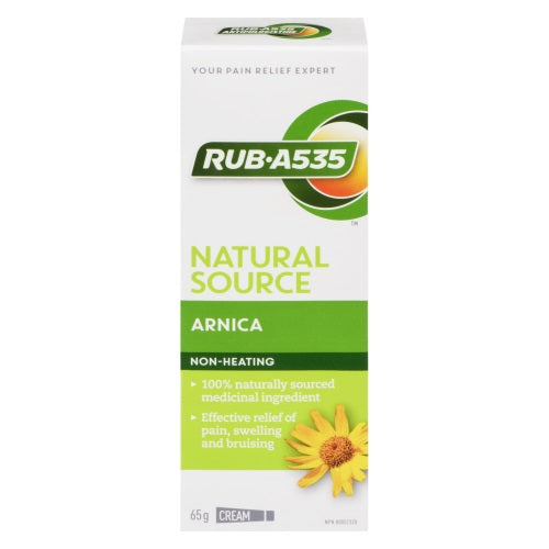 A-535 Rub 65g Arnica Fragrance Free Gel