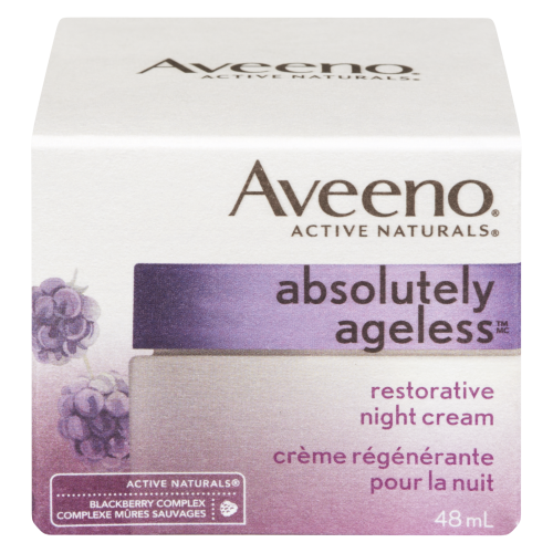 Aveeno 48ml Absolutely Ageless Night Cream