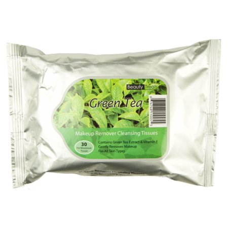 Beauty Treats Green Tea Make-up Remover Wipes